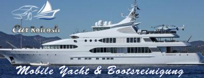 Yachtservice - Bootsreinigung