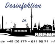 Desinfektion in Bremen