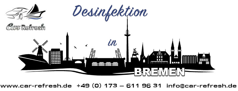 Desinfektion in Bremen
